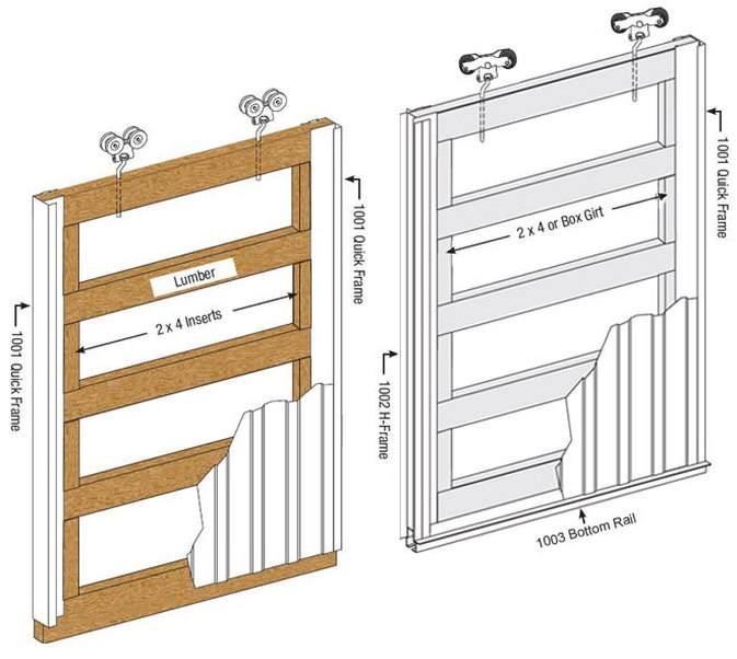 Painting Pole Barn Slider Door Rails-quick-rails.jpg