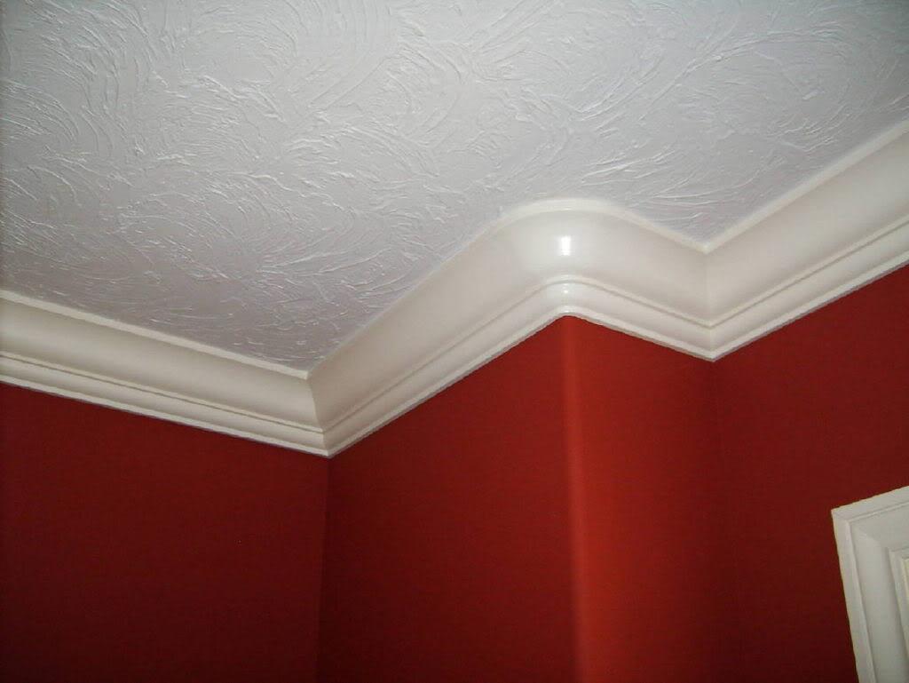 Плинтус на потолок - когда нужен плинтус, что выбрать 9