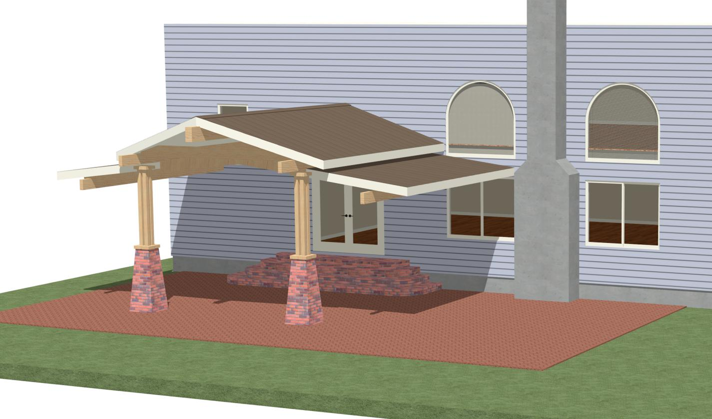 Lachisteradememphis patio cover design plans for Patio roof plans