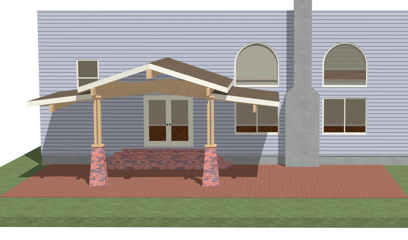 Help With Ideas, Patio Roof - Page 2 - Carpentry ... on Roof For Patio Ideas id=59570