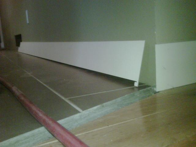 Installing Baseboard - Finish Carpentry