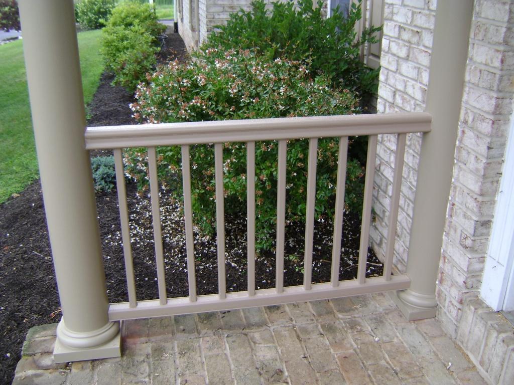Radiance Rail Attachment To Column Decks Amp Fencing