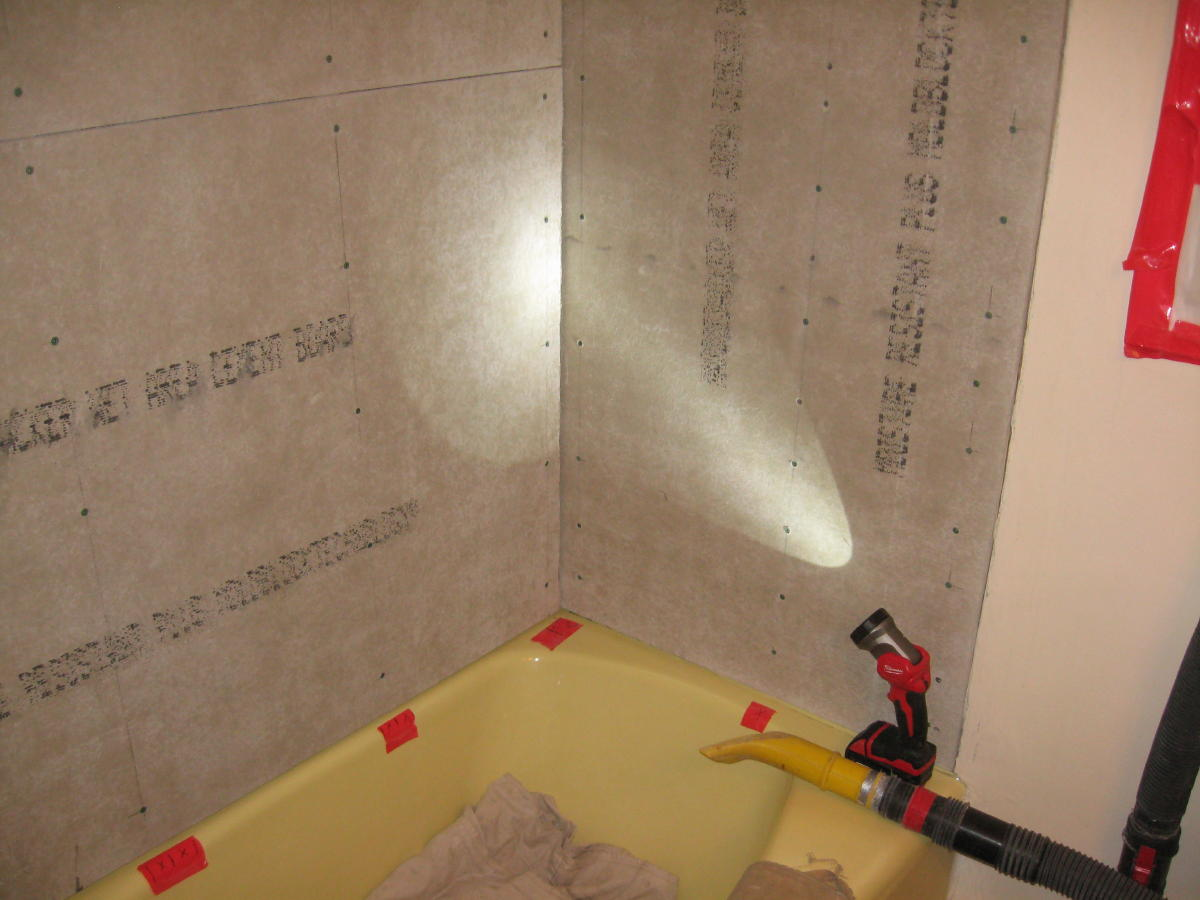 Tile Tub Surround - Tiling - Contractor Talk