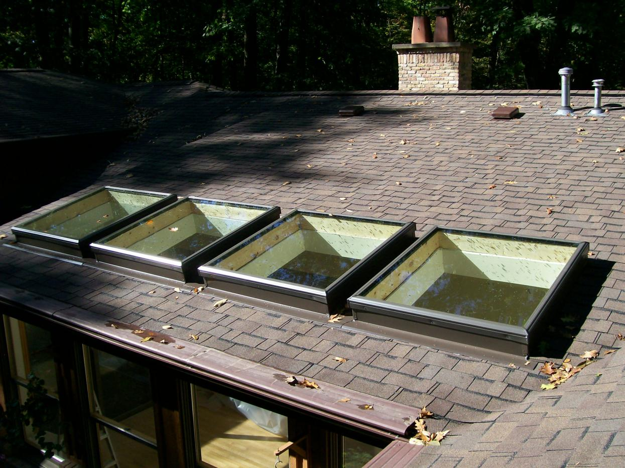 Small Space Between Two Skylights Roofing Contractor Talk