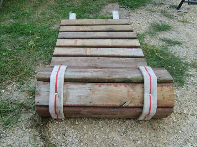 how to make a hose reel out of wood
