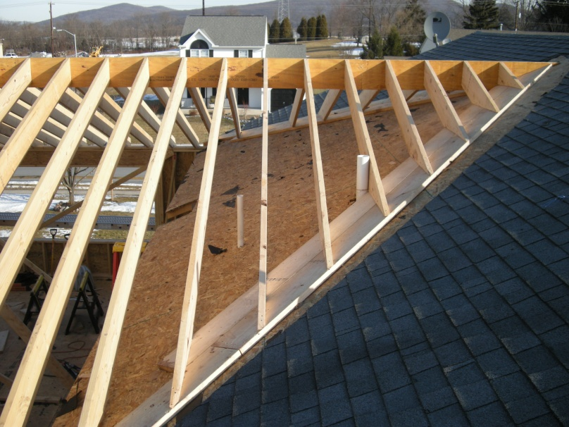 Roof Addition  U0026     Diagram Skillion Roof Framing Inside