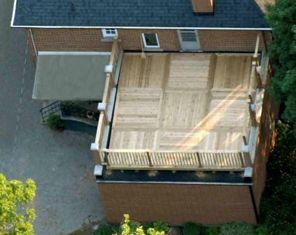 roof top deck photo decks fencing contractor talk