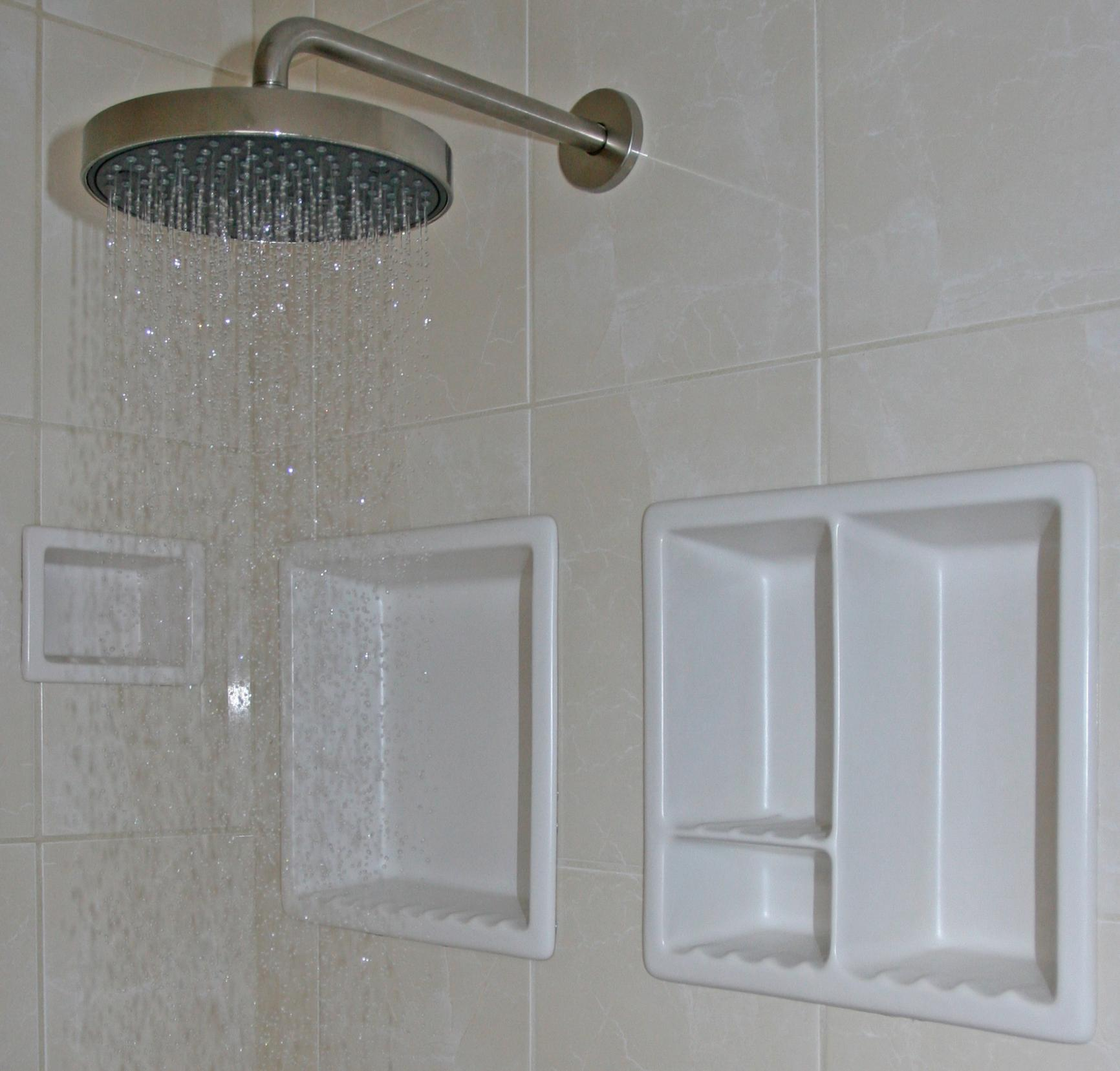 Recessed Soap Shampoo Niche Tiling Contractor Talk
