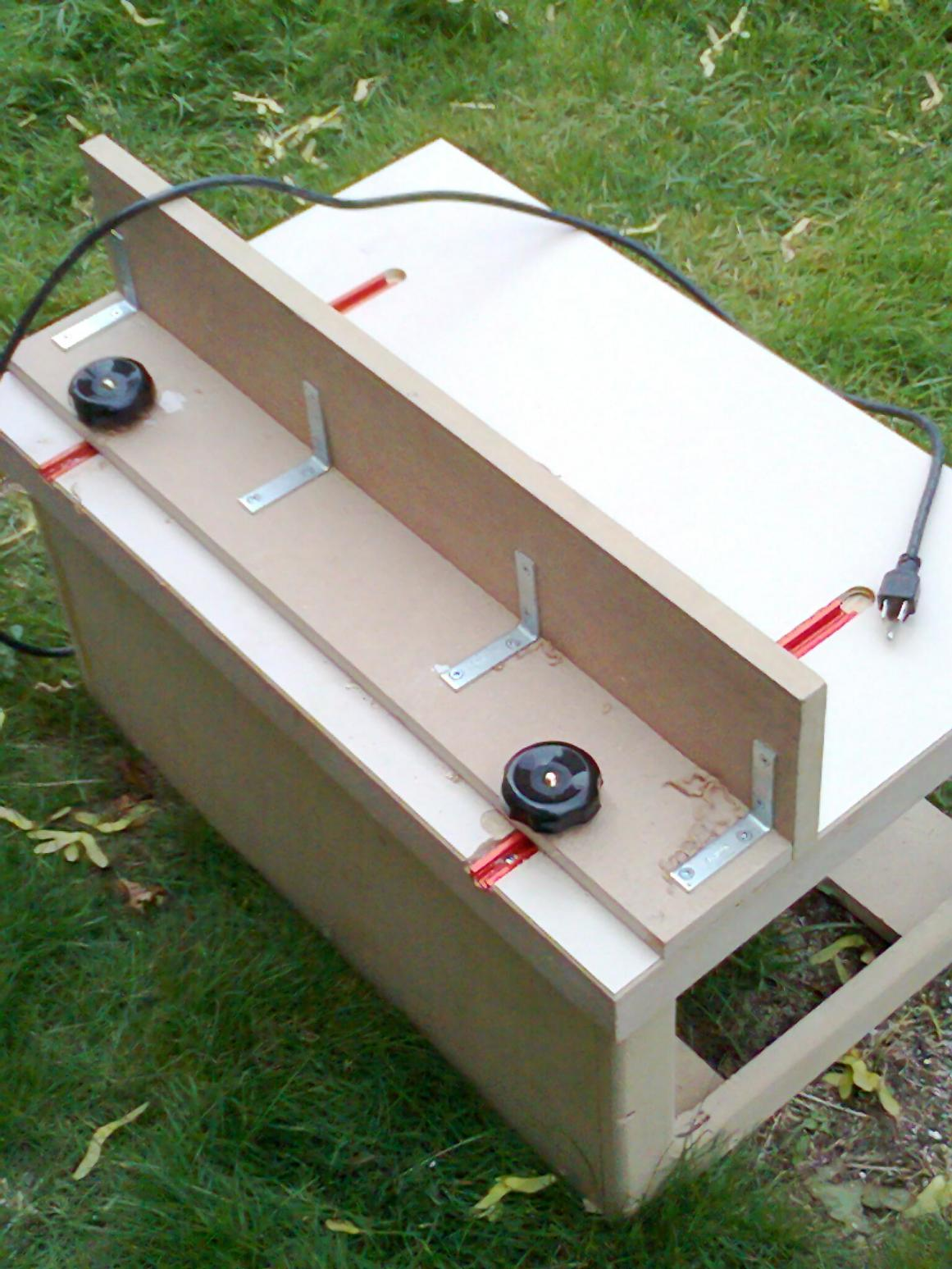 Router table finish carpentry contractor talk router table roter tableg greentooth Choice Image