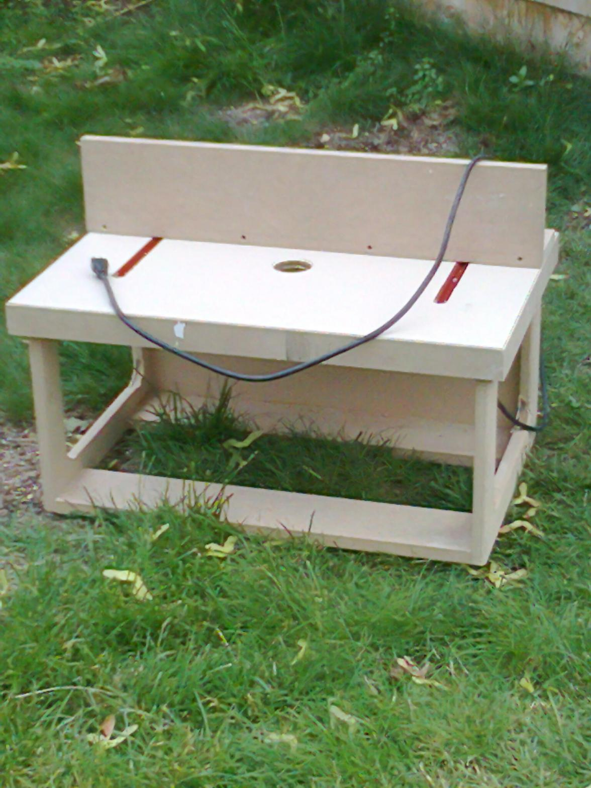 Router Table - Finish Carpentry - Contractor Talk