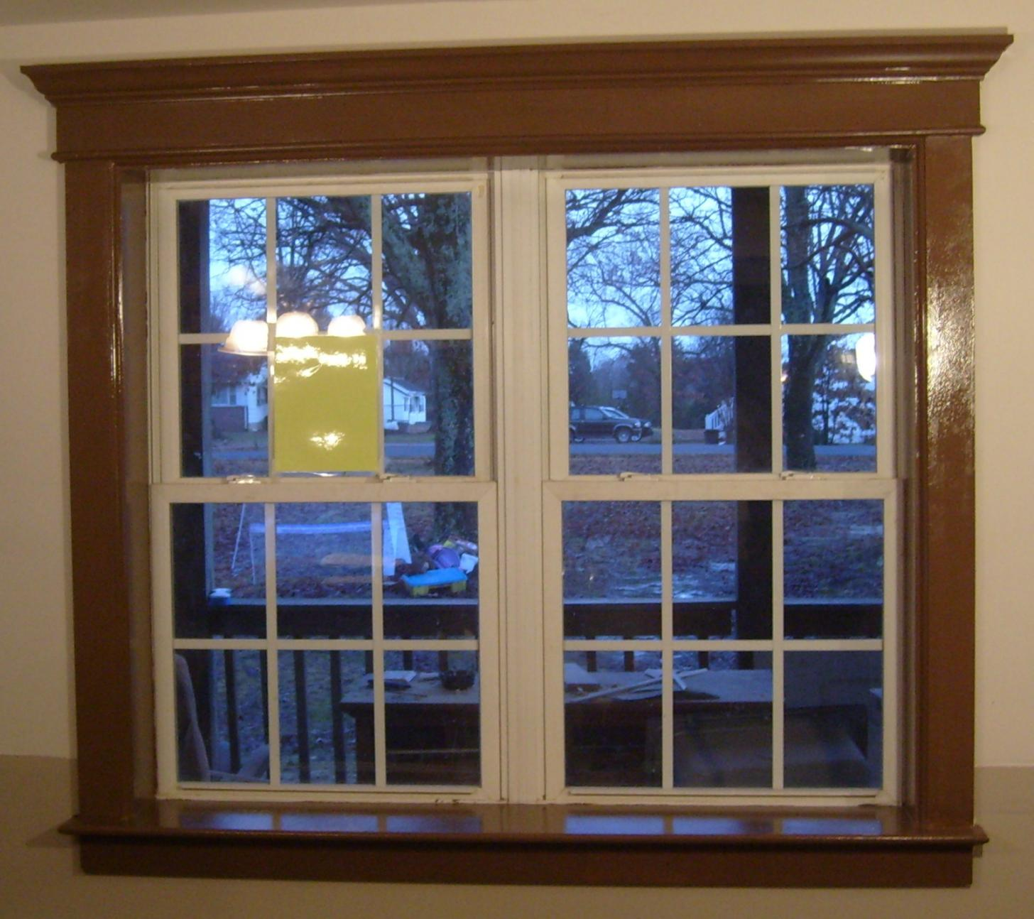 White window molding joy studio design gallery best design for Custom window designs