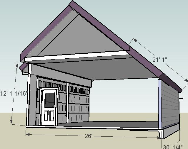 Saltbox Garage Roof Frame Page 2 Framing Contractor