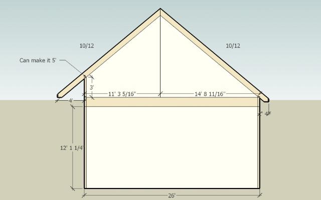 saltbox garage plans