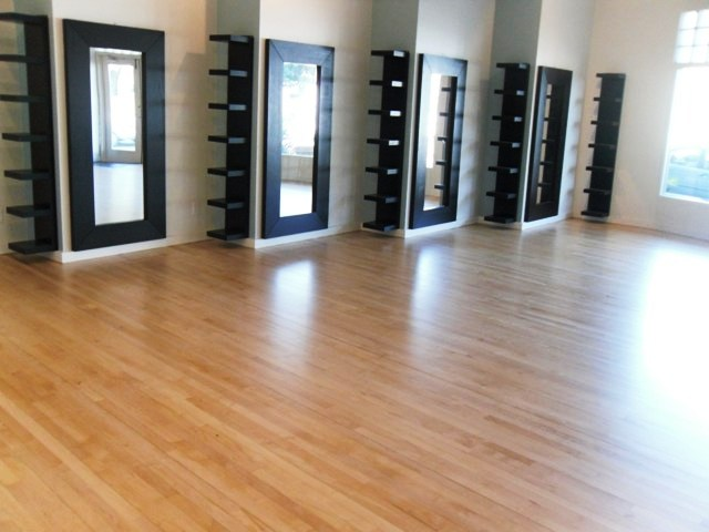 Hair Salon Refinishing Flooring Picture Post