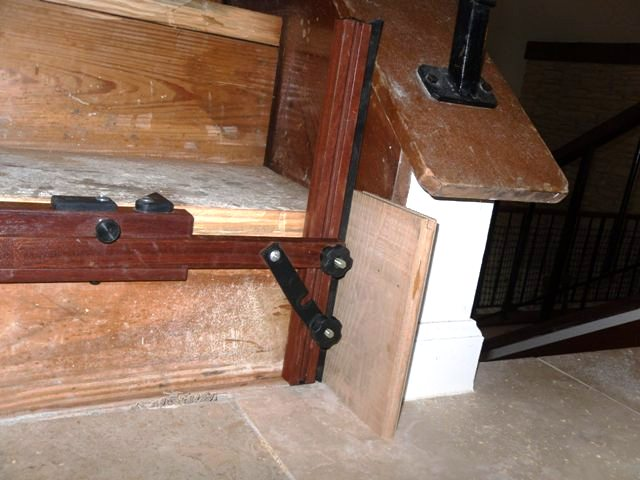 ... How I Install (refacing) Solid Wood Stairs Sam_1441 ...