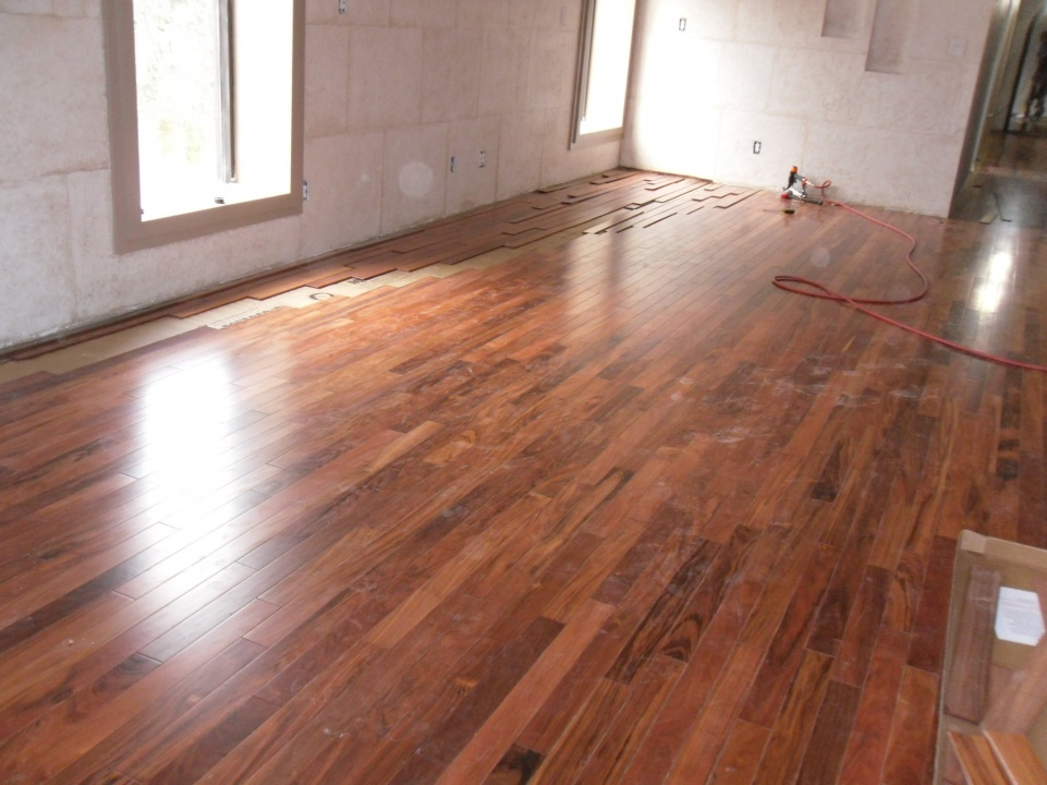 Experience with bolivian rosewood flooring contractor for Rosewood flooring