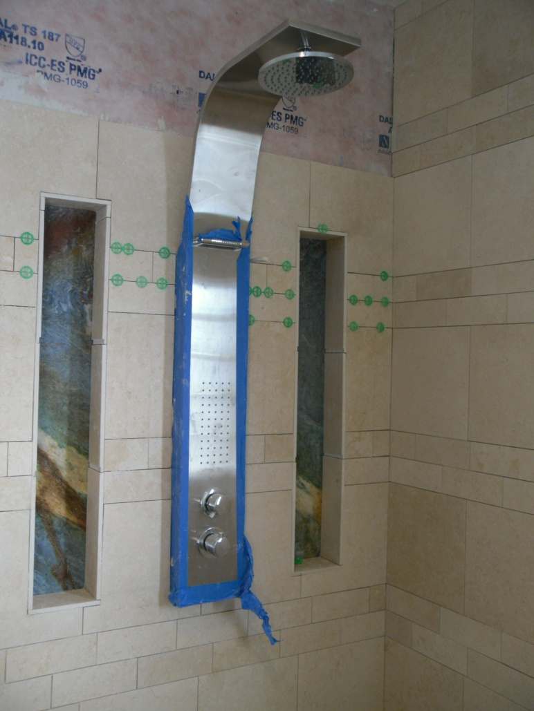 Complete Bathroom Extension And New Shower Flooring