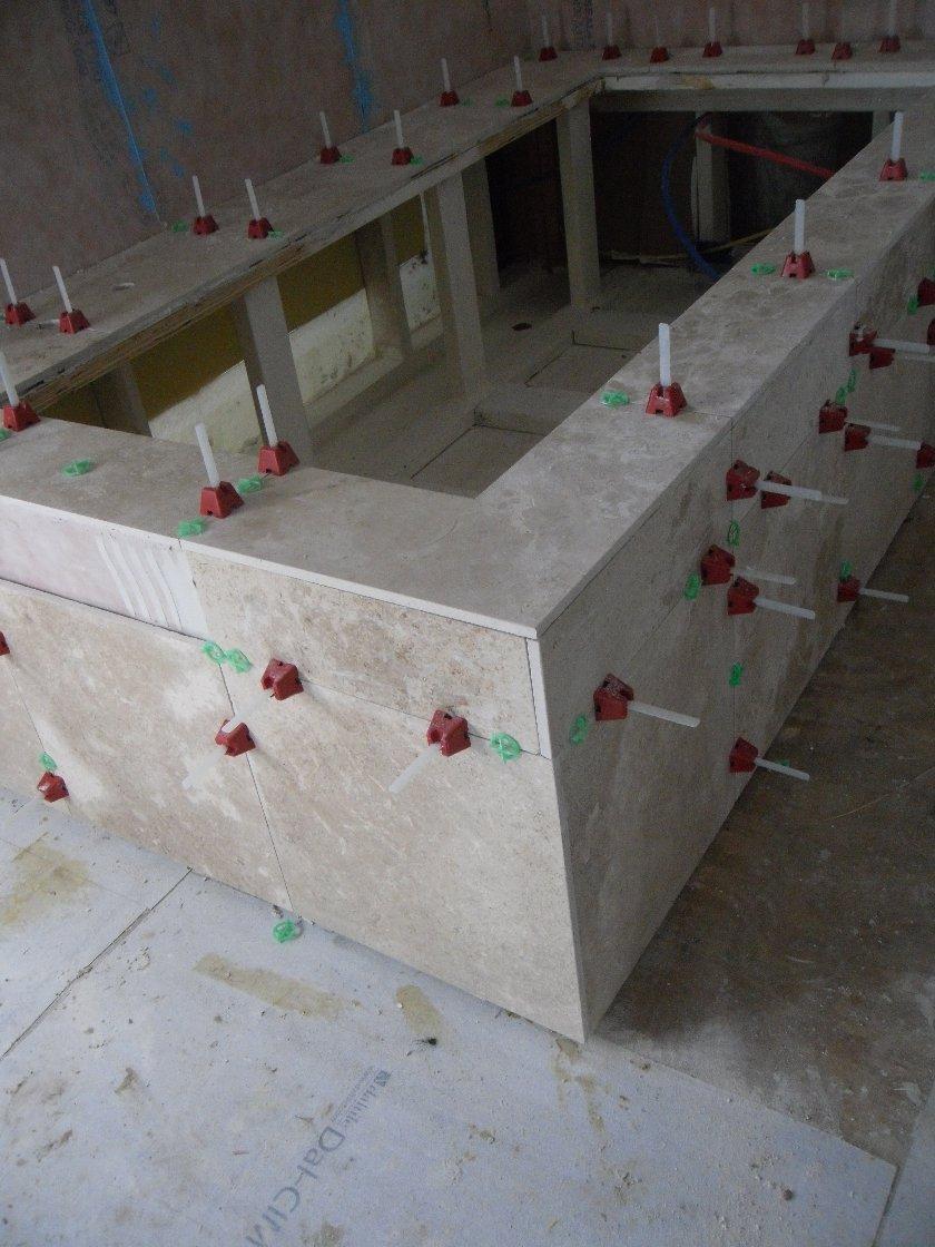 re tub wall waterproofing question - Drop In Tub Framing