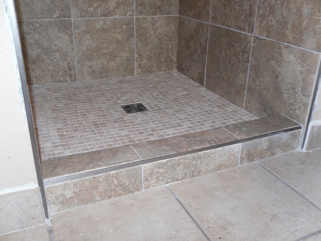Shower And Tub Porcelain Flooring Picture Post
