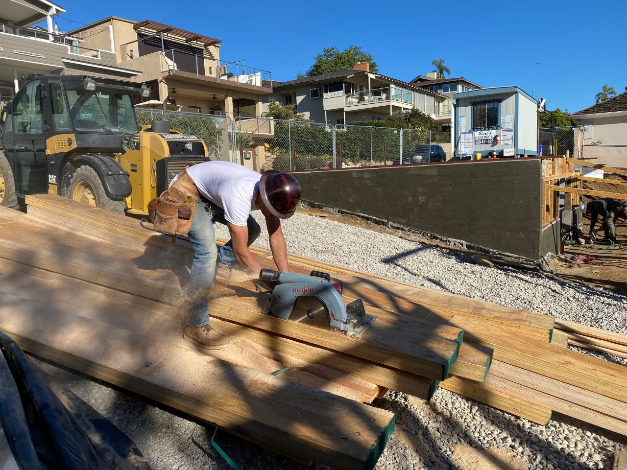 Custom Framing at Point Loma Beach House-san-antonio-beams-gym.jpg
