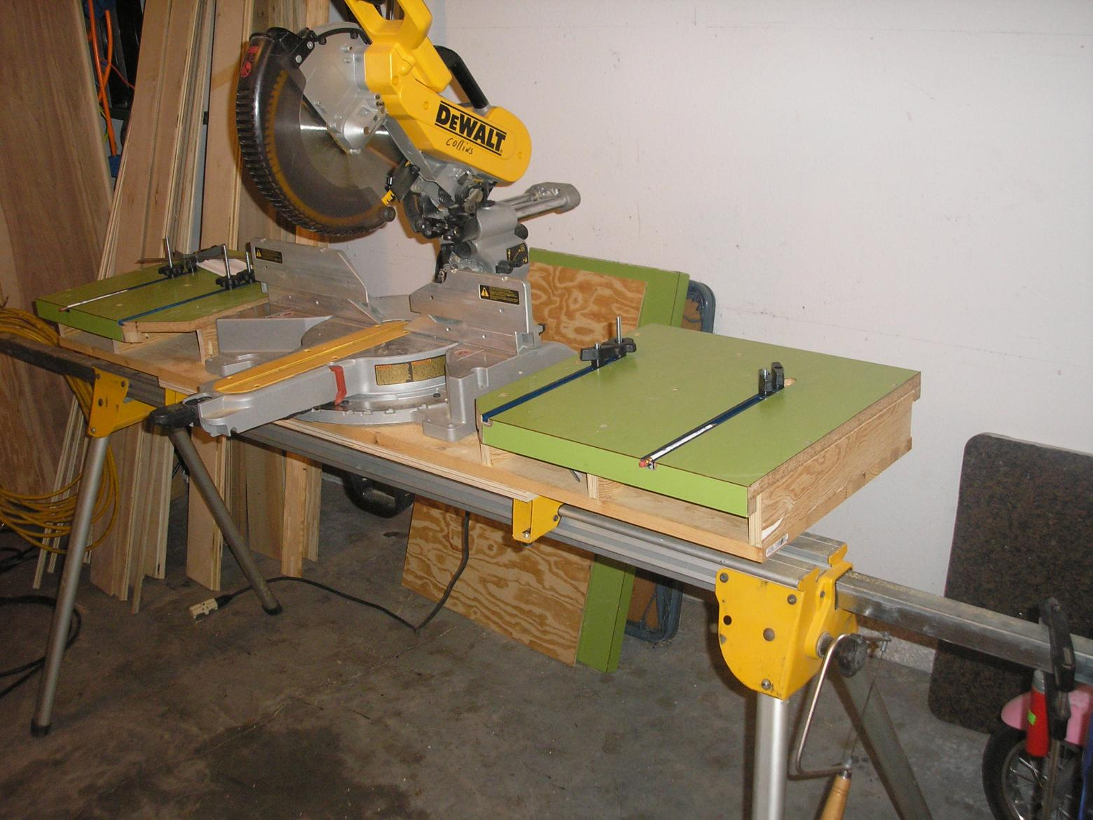 Miter Saw Bench Tools Amp Equipment Contractor Talk