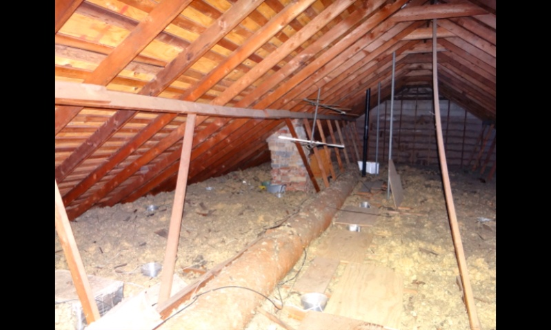 how to fix a cut ceiling joist