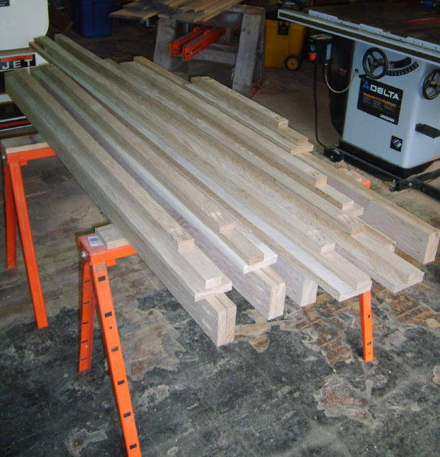 """Screen Porch Project With """"Screen Tight""""-screen-frame-parts-pocket-holed.jpg"""