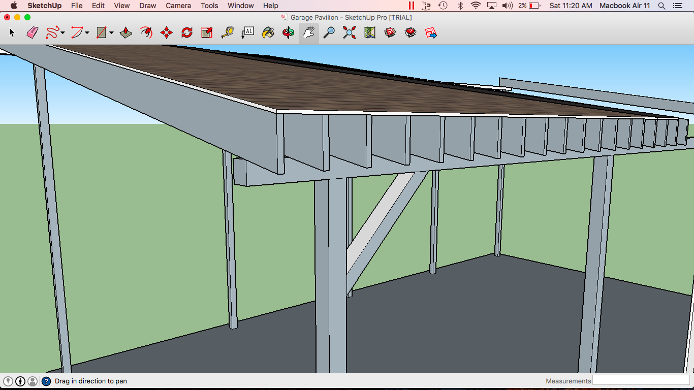Best Way To Span 32', Unsupported - Drafting & CAD Forum