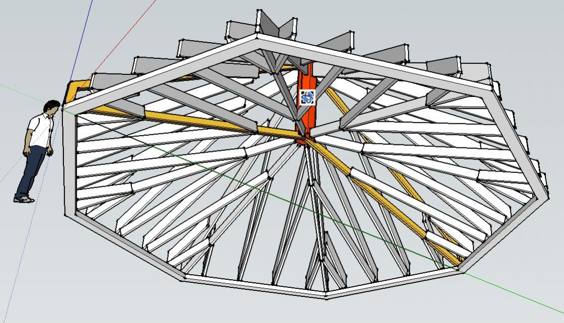 Roof thrust some truss manufacturers use a proprietary for Cathedral ceiling trusses