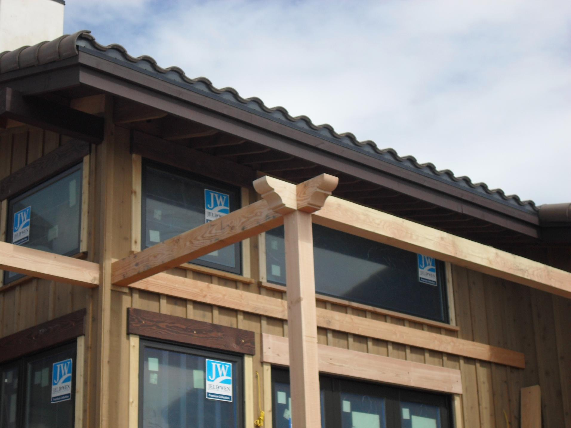 Pergola Curved Ledger At House Framing Contractor Talk