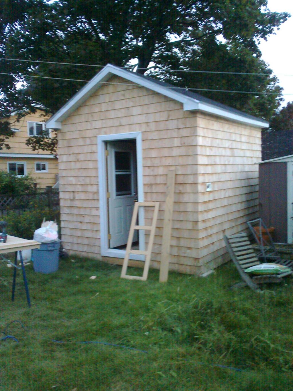shed designs and