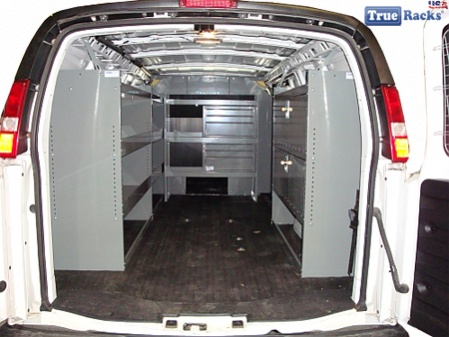 Work Van Shelves Shelving Package Jpg