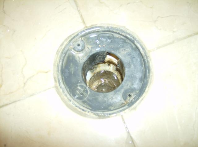 Customer Has A Tiled Shower Pan Leak