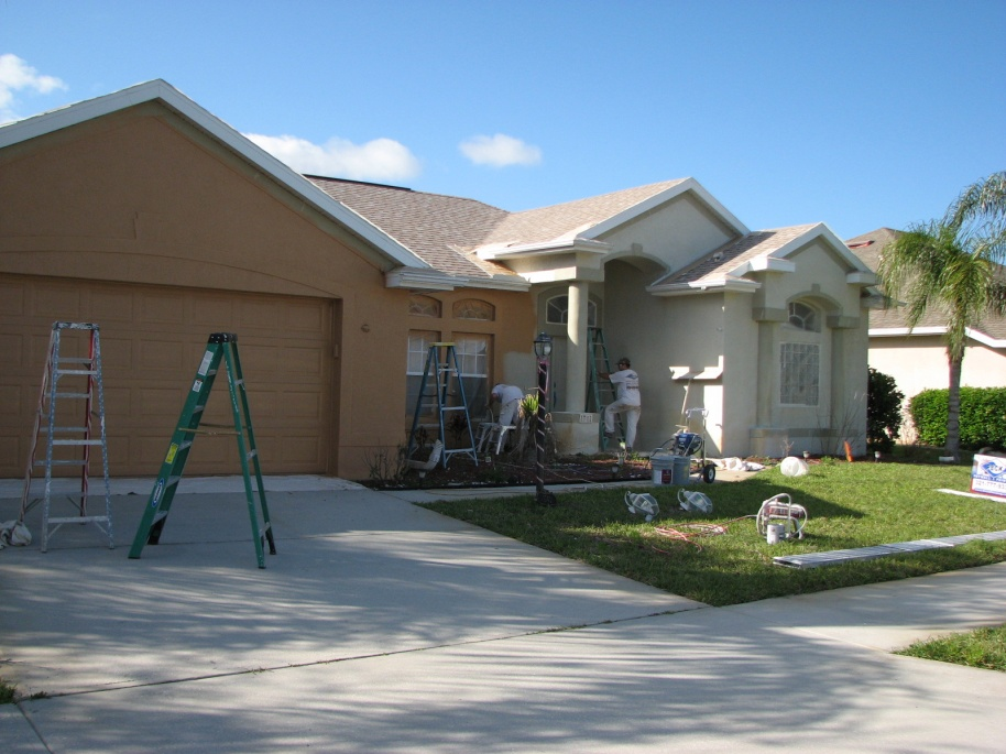 Spraying Exteriors Painting Amp Finish Work Contractor Talk