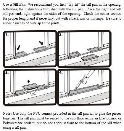 Re Leaking Door And Sill Pan  sc 1 st  Contractor Talk & Leaking Door And Sill Pan - General Discussion - Contractor Talk