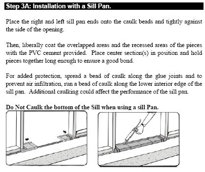 Leaking Door And Sill Pan General Discussion Contractor Talk