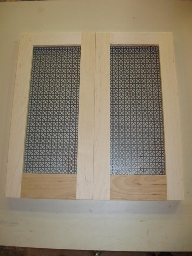 Ventilation holes on vintage sink cab door for Door ventilation design