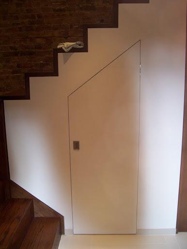 design Concealed closet door-site-fabricated-pitched-door.jpg & Concealed Closet Door - Finish Carpentry - Contractor Talk pezcame.com