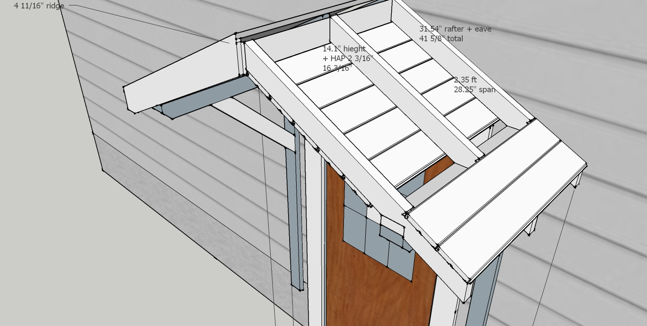 Open Gable Porch Roof Framing - 12.300 About Roof