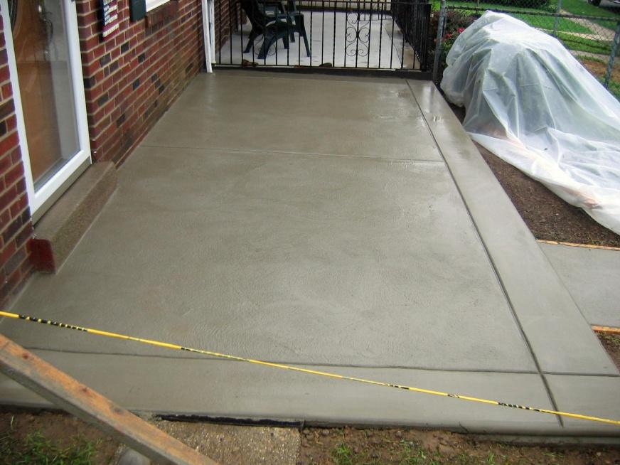 Concrete Patio Contractor Talk