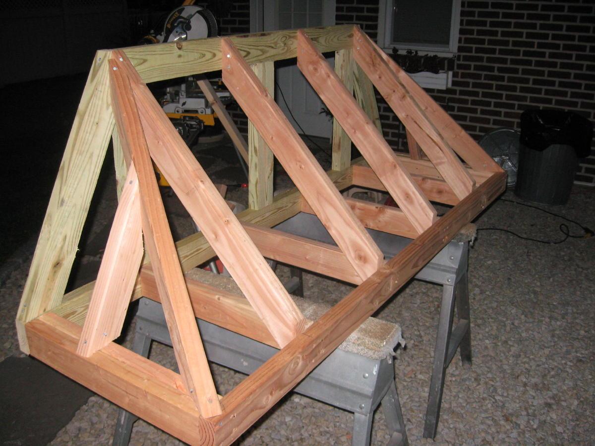 Bastard Hip Door Canopy Windows Siding And Doors Contractor Talk & Collection Wooden Door Canopy Plans Pictures - Losro.com