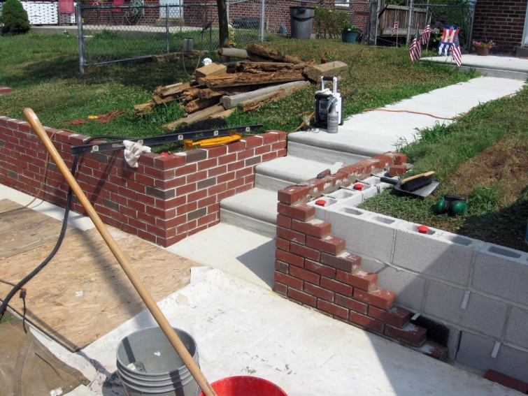 retaining wall project page 4 masonry contractor talk