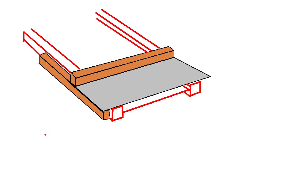 Cutting iLevel floor joists-sled.jpg