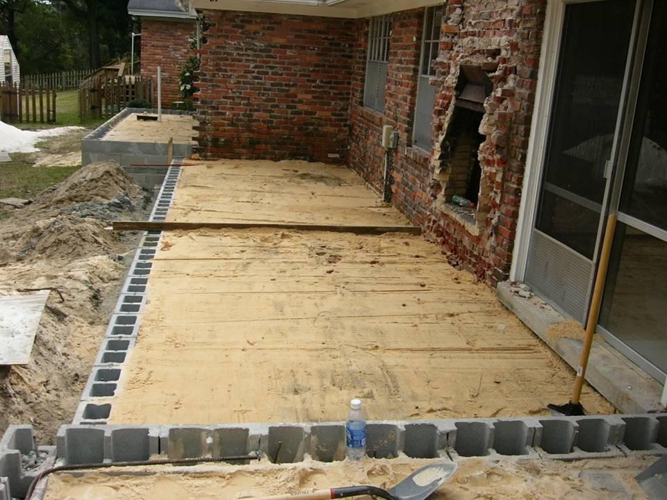Block Foundation Addition Masonry Contractor Talk
