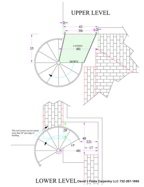 Spiral stair set up questions welding steel trades Spiral stair cad