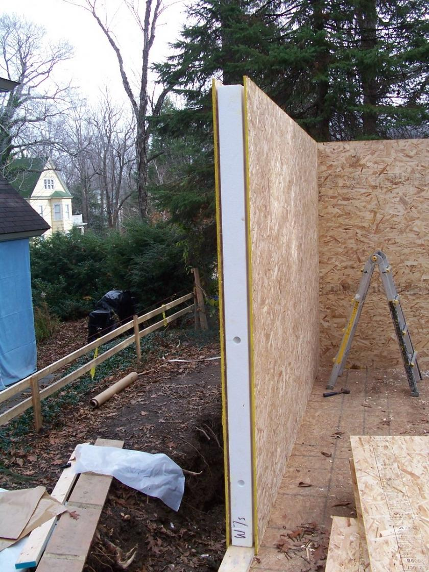 Sip wall framing general discussion contractor talk Building with sip