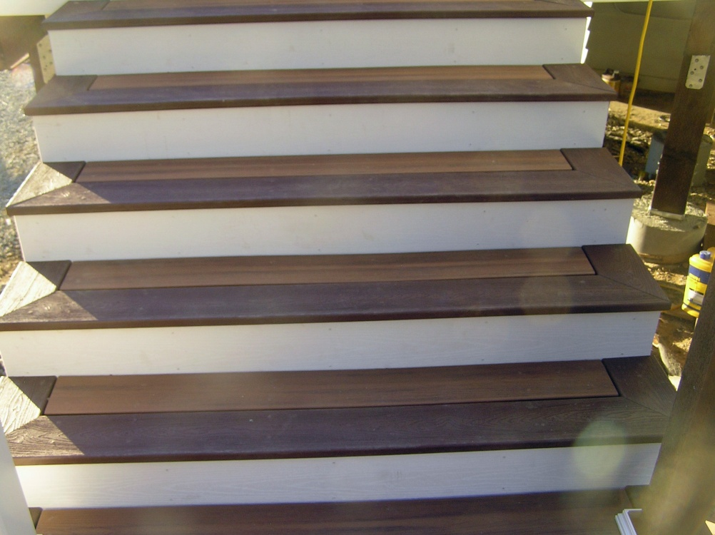 Superior A Trex Deck Spranzo Stairs 7