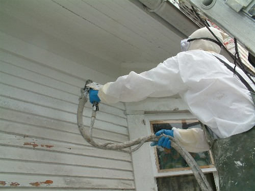 Lead Base Paint Removal Wood House Painting Finish Work Picture Post Contractor Talk