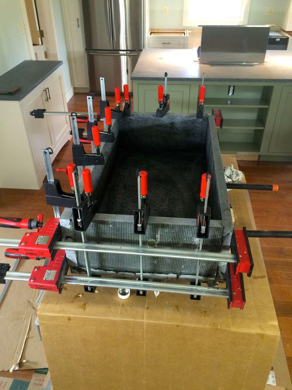 New Soapstone Farm Sink - Kitchens & Baths - Contractor Talk KE81