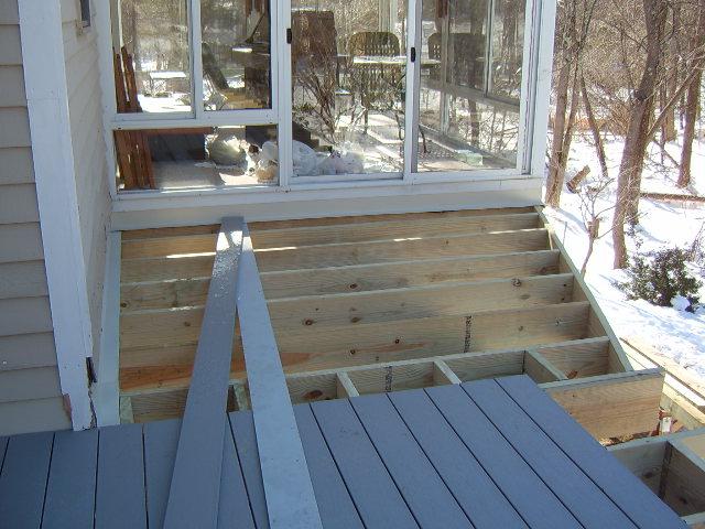 Deck On Steel Beam Decks Amp Fencing Contractor Talk